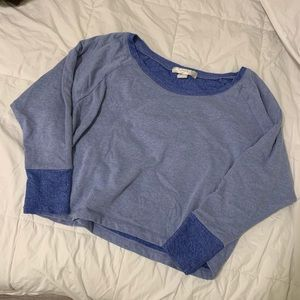F21 Cropped Crew Neck